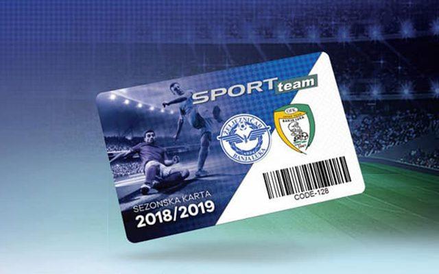 Sezonske Ulaznice za Sezonu 2018/2019
